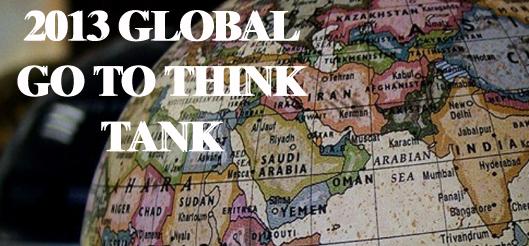 Los mejores Think Tanks del 2013