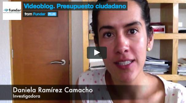 Videoblog sobre Presupuesto ciudadano