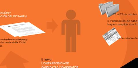 Infografía: Conoce las bases de la convocatoria para la elección de la persona titular de la CNDH