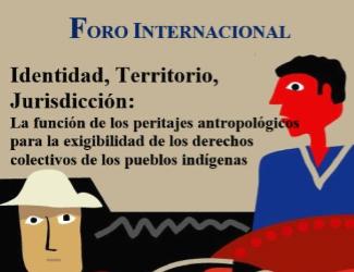 Foro Internacional 'Identidad, Territorio, Jurisdicción'
