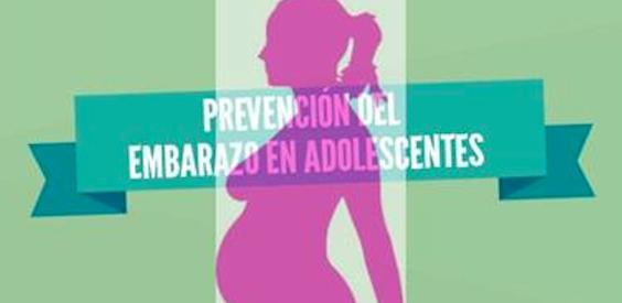 Infografía: Prevención del embarazo en adolescentes