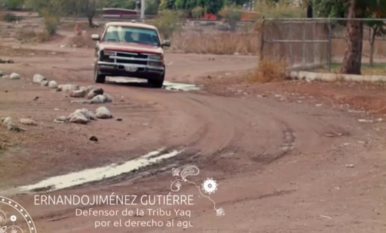 Defensores de la Tribu Yaqui por el derecho al Agua