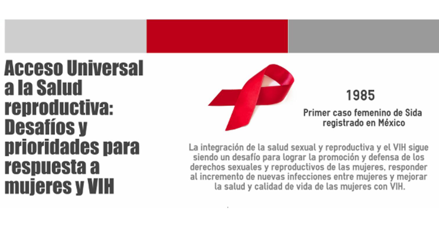 Brindan recomendaciones para políticas públicas en materia de mujeres y VIH