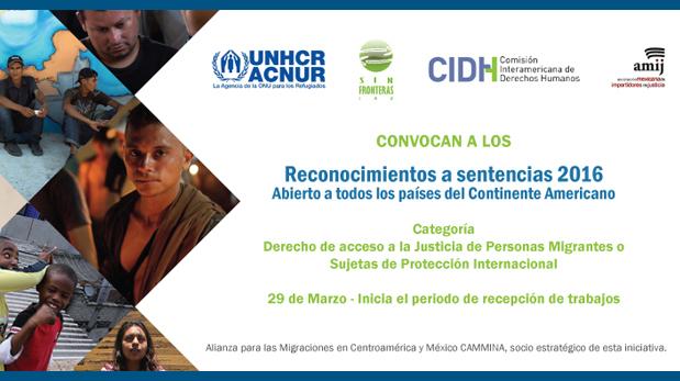Buscan reconocer la mejor sentencia en materia de derechos humanos de personas migrantes y sujetas de protección internacional