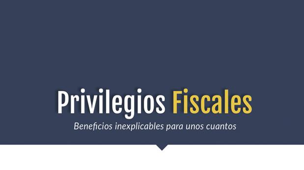 Privilegios Fiscales: beneficios inexplicables para unos cuantos