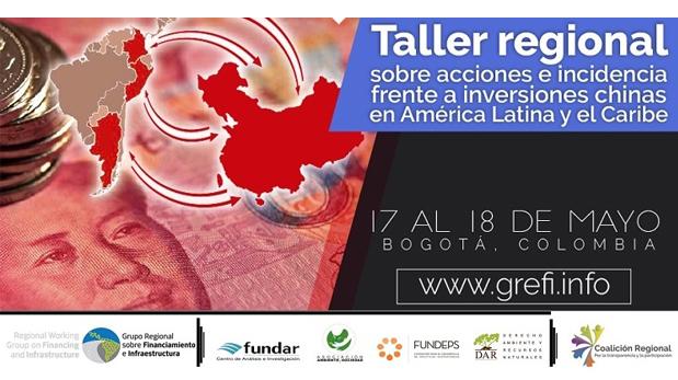 TALLER REGIONAL  SOBRE ACCIONES E INCIDENCIA FRENTE A INVERSIONES CHINAS EN AMÉRICA LATINA Y EL CARIBE
