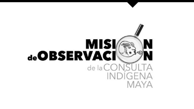 """Reporte de observación de la Sexta sesión de la fase """"Acuerdos previos"""" en Hopelchén y Tenabo (27 y 28 de mayo de 2017)."""
