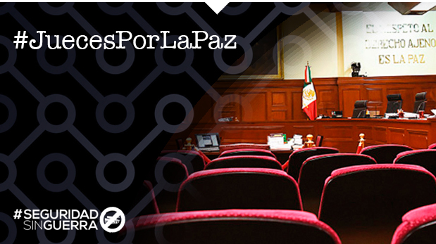 #JuecesPorLaPaz