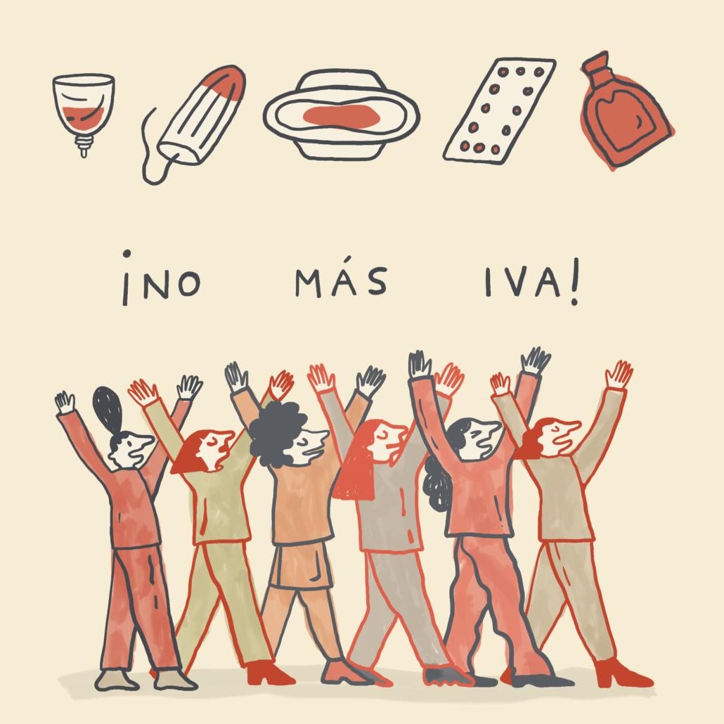 #MenstruaciónSinIVA